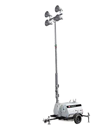 terex al5 heavy duty portable light tower 20kw generator. Black Bedroom Furniture Sets. Home Design Ideas