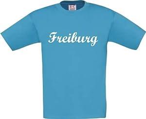 Shirtstown Kinder T-Shirt City Stadt Shirt Freiburg Deine Stadt Kult Größe 0-48 Monate