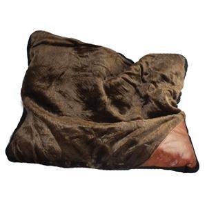 Artikelbild: Hund, Katze, pet aus Fell, Braun/Schwarz Abmessungen 60x 50cm eine bequeme Bett für Ihr Haustier Hund oder Katze