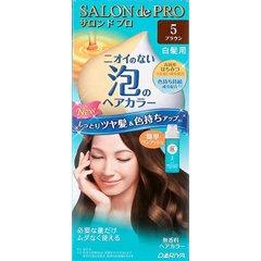 サロンドプロ ワンプッシュ泡のヘアカラー 5