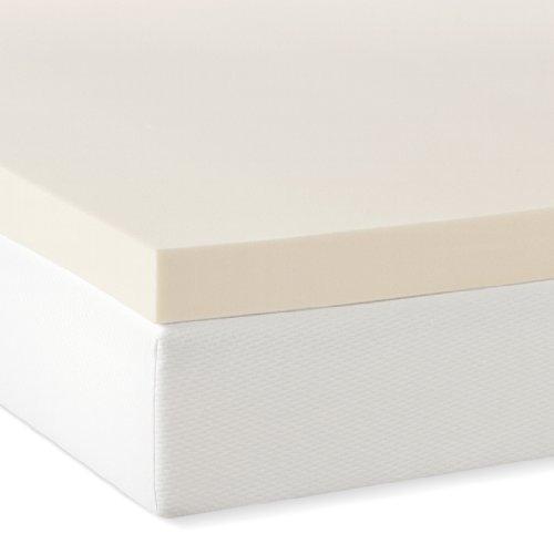 what is the price for serenia sleep 3 inch 4 pound density visco elastic memory foam mattress. Black Bedroom Furniture Sets. Home Design Ideas