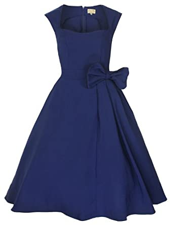 Lindy Bop Bow Swing Dress