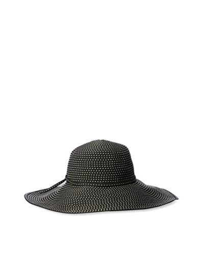 San Diego Hat Women's Woven Hat, Black As You See