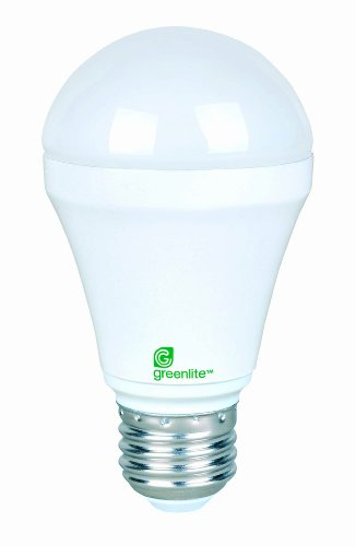 24Pk - 6W - A19 Led - Medium Base - 120V - 3000K - 25,000Hrs - Dimmable Led Light Bulb - Greenlite 6Wa19