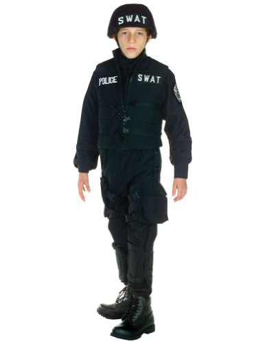 Kids-Costume Swat Kids Costume Lg 10-12 Halloween Costume - Child 10-12