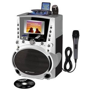 Emerson Karaoke CDG MP3 Karaoke Player Catalog Category Home and Portable Audio Karaoke