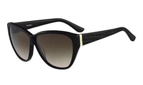Salvatore Ferragamo SF711SL Sunglasses-001 Black