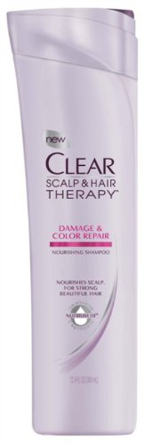 CLEAR SCALP & HAIR BEAUTY Damage & Color Repair Nourishing Shampoo, 12.9 Fluid Ounce (079400194190)