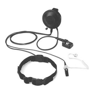 Throat Microphone With Ptt