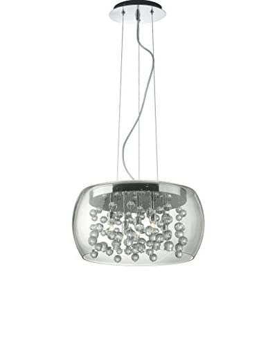 Zilveren Evergreen Lights hanglamp