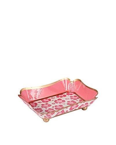 Jayes Leopard Trinket Tray, Pink