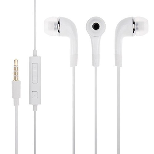 web9t9 Xolo Play 6X 1000 Compatible Earphone / Handsfree with 3.5mm jack - White  available at amazon for Rs.198
