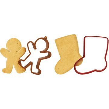 Sock & Gingerbread Man Cookie Shapers