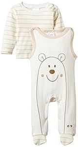 Twins im Set mit Langarmshirt - Pelele para bebés