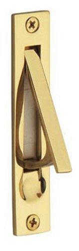 Baldwin 0465.003 Edge Pull, Lifetime Polished Brass (Brass Door Hardware compare prices)