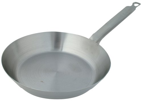 Johnson-Rose French Style Steel Fry Pan, 10-3/4 Inch  x 1-5/8 Inch
