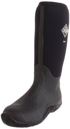 The Original Muckboots Adult Tack Classic Hi-Cut Boot,Black,Men'S 9 M/Women'S 10 M