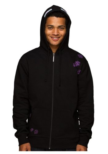 JINX Minecraft Enderman Zip-up Black Jacket Hoodie