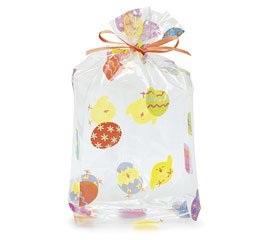 Cello Bags Easter Chicks Large - Pack of 100