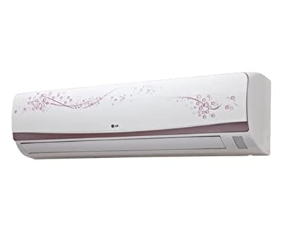 LG LSA3VF3D L-Vogue Floral Split AC (1 Ton, 3 Star Rating, White)