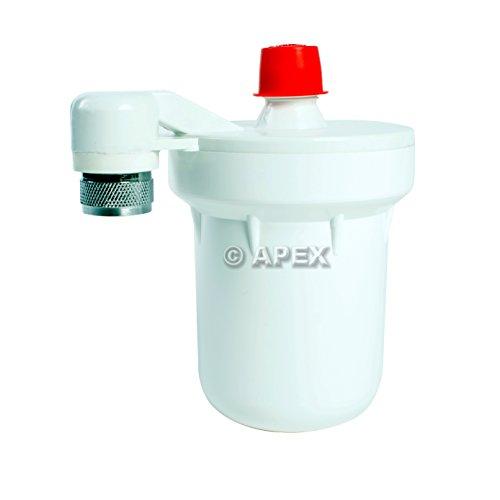 apex mr 7010 shower filter system for chlorine hard water fluoride reduction hardware. Black Bedroom Furniture Sets. Home Design Ideas
