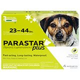 Parastar Plus 3pk 23-44lb Flea & Tick by Novartis