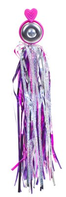 Buy Low Price Sunlite Bell & Streamers Combo Pack – Heart Design, Pink/Purple (97349JB)