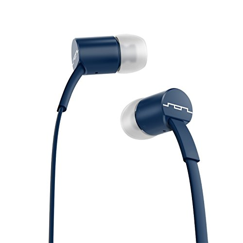 Sol Republic 1112-66 Jax In-Ear Headphones With Single-Button Remote And Microphone, Navy