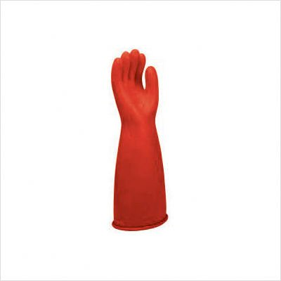 Electrical Gloves, Size 9, Red, 14 In. L, Pair