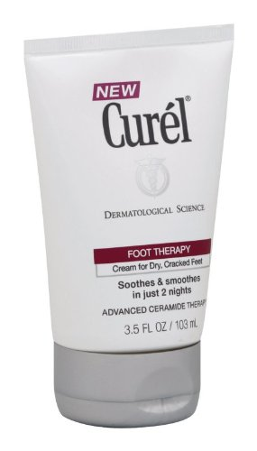 Curel Avanced Ceramide Foot Therapy,  3.5-Ounce Tube (Pack of 3)