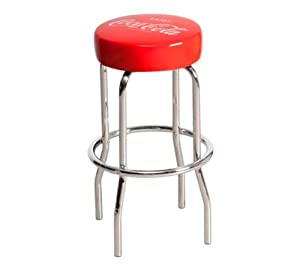 coca cola rouge 1 tabouret de bar informatique. Black Bedroom Furniture Sets. Home Design Ideas