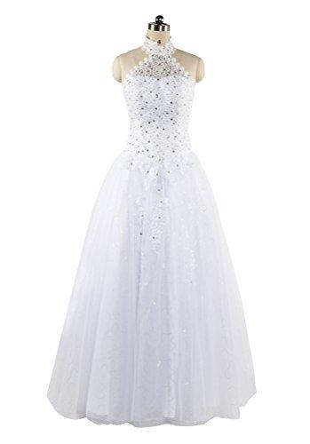hot-queen-womens-halter-rhinestones-sleeveless-organza-long-prom-dresses-wedding-dress-2016