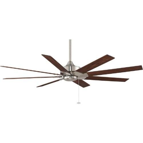 Fanimation Levon 63 Inch Indoor Ceiling Fan - Brushed Nickel