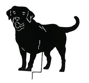 Black Labrador Retrever Garden Stake / Garden Decor / Garden Art