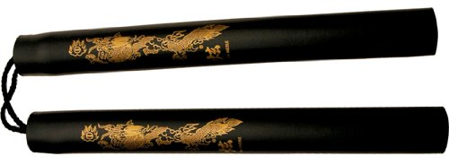 Black Dragon Foam Padded Nunchaku
