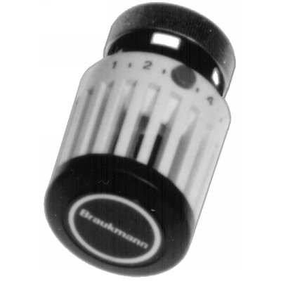High Capacity Thermostatic Radiator Valve, Integral Sensor, 43 To 79F