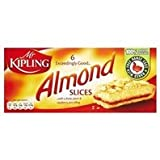 Mr Kipling Almond Slices 6 Pack 150g