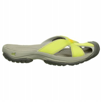 Keen Women'S Bali Sandal,Lime/Neutral Gray,6 M Us