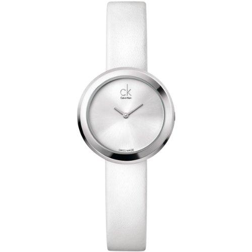 Calvin Klein Women's Quartz Watch ck firm K3N231L6 with Leather Strap