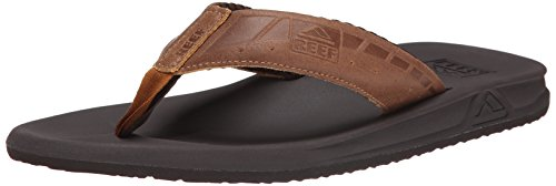 Reef Phantom Le - Flip-flop Uomo, Marrone (Brown/Tan), 42 EU