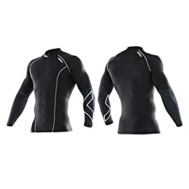 2XU 2012 Men's Xform Elite Compression Long Sleeve Top - MA1990a