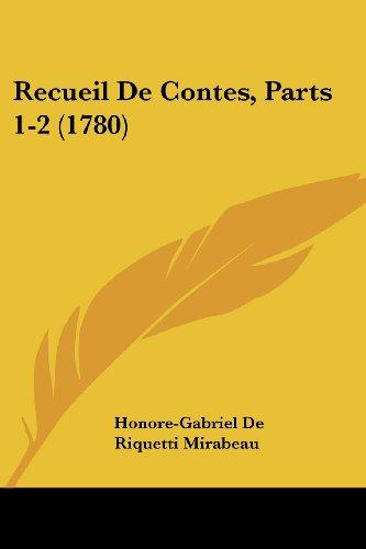 Recueil de Contes, Parts 1-2 (1780)