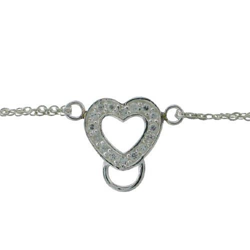 Sterling Silver Charm Component Bracelet