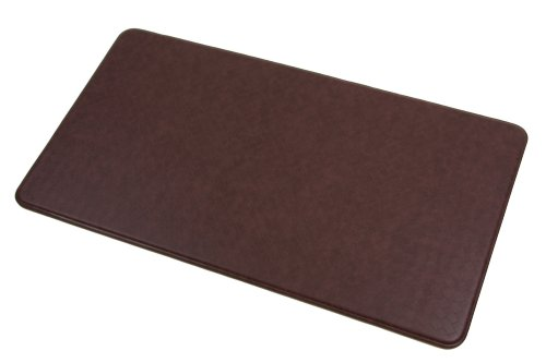 Sublime Imprint Anti Fatigue Nantucket Series 26-Inch By 48-Inch Comfort Mat, Cinnamon