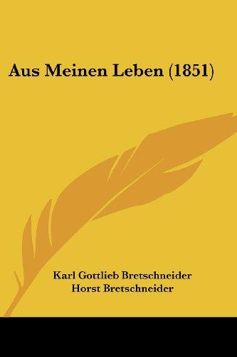 Aus Meinen Leben (1851)