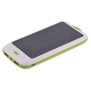 10000mAh Dual USB Solar Power Bank for Photo