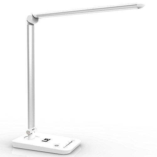 LE-dimmbar-und-faltbar-Schreibtischlampe-8W-Augenschutz-500lm-tageslichtwei-7-Helligkeitsstufen-Berhrungsempfindlich-Faltbare-LED-Tischleuchte-Leselampe