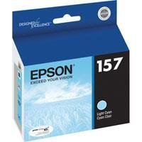 Epson UltraChrome K3 157 Inkjet Cartridge (Light Cyan) (T157520)