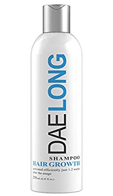 Hair Growth Shampoo - Stimulates Hair Fast & Promotes in 2 Weeks - Prevents Hair Loss & Hair Breakage - Intense Formula with Hydrolyzed Lupine Protein For Increase Hair Long - Daily Use Men and Woman