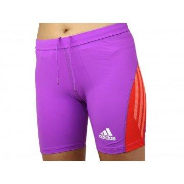 Adidas Adizero ST W Tight Hose Sporthose lila Damen NEU
